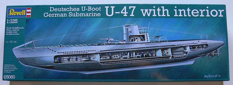REV 5060_German Submarine U-47 with interior_125_1