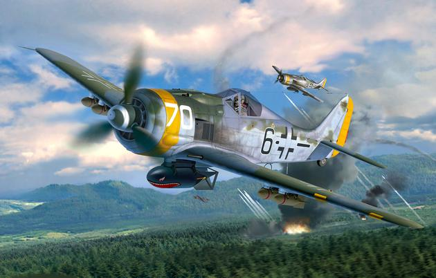 Revell Fw190 F-8 Cover
