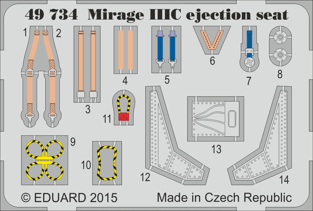 49734 Mirage IIIC Ejection Seat